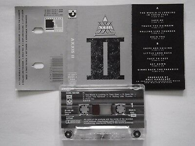 "mc  axxis  "" axxis II ""   booklet"