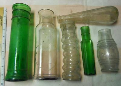 6 Food Bottle Barrel Mustard Lime Green EC Hazard New York NY Campbell Camden NJ