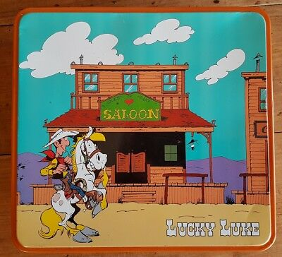 """Eo Morris 2015 Boîte À Biscuits """" Massilly """" Lucky Luke"""