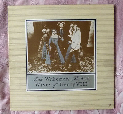 Rick Wakeman The Six Wifes Of Henry VIII Vinyl LP Album 1973  AMLH 64361