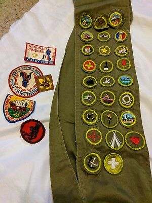 lot of old vintage  BOY SCOUT PATCH  / PATCHES  badges etc LOOK No Reserve