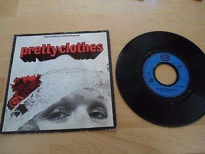 "C&A -Pretty Clothes / The Way I Feel About You- 7"" (SL 1001)"