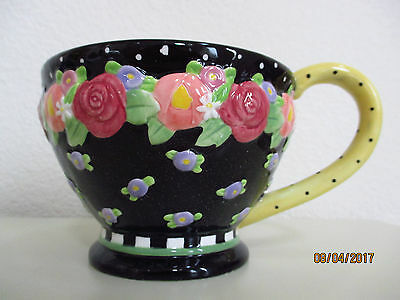 Mary Engelbreit Cottage Collection Cup (Yellow) (Rare Find)