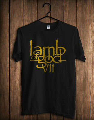 LAMB OF GOD VII Concert Band Music Collection T-Shirt   size S-M,XL,2XL