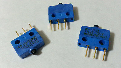 Snap Action Switch Sub-SubMiniature SPDT 8A OTTO B3-13131 M8805/101-021 200pcs