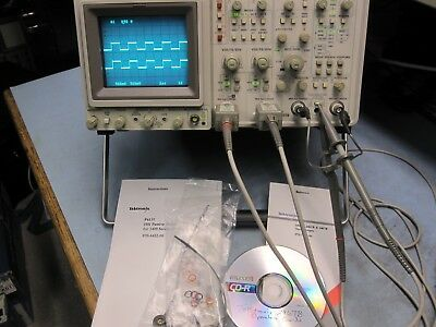 Tektronix 2467B 400 Mhz, P6137 Probes Made in USA, Low Hrs of use. Very Nice!!