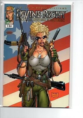 Divine Right #1 // Jim Lee Cover // VF+