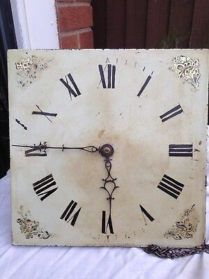 12 Inch Longcase Clock Movement And Dial
