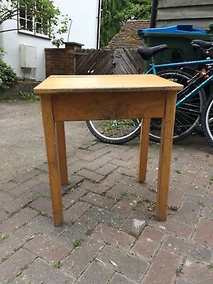 Vintage Old School Desk with lift up lid