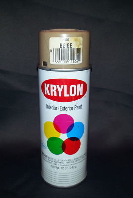 Vintage Krylon Spray Paint 2504 Beige