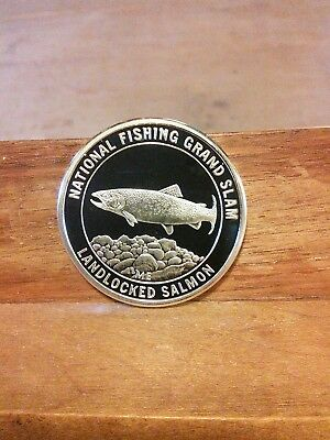 National Fishing Grand Slam-Florida Landlocked Salmon Coin
