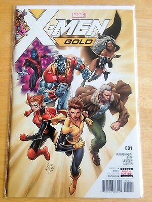 X-Men Gold #1 NM, Marvel Comics, Controversial Issue, Ardian Syaf