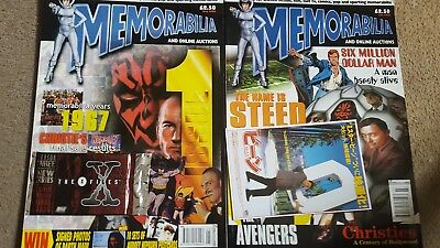 Memorabilia Magazine #1 - X Files Trading Cards Free Gift, May 2000 Star Wars