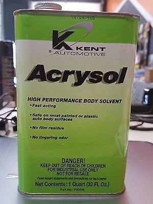 Acrysol Tire Cleaner (Quart) Great for Go Kart Racing Tire Prep