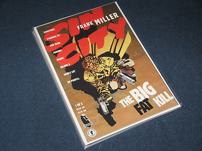 Sin City: The Big Fat Kill (1994) by Frank Miller. Issues 1-5 (complete)