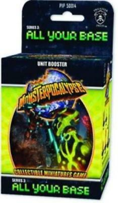 Privateer Monsterpocal Series #3 - All Your Base, Unit Booster Pack (C Box MINT