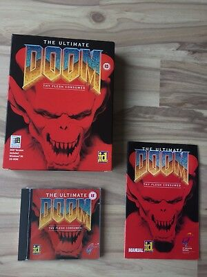 The Ultimate DOOM // PC-CDROM // Box // Good Condition, Complete with Manual