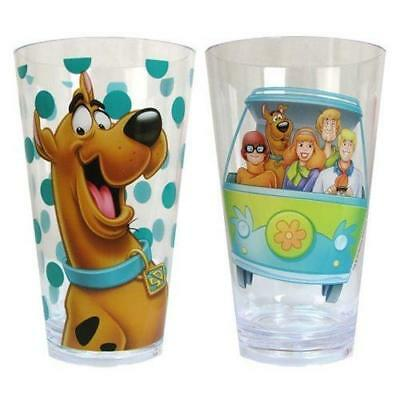 Scooby Doo & the Gang 2 Piece Acrylic Cup Set