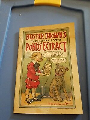 Buster Brown's Experiences with Pond's Extract RF Outcault Book 1904
