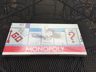 NEW 1961 Monopoly Board Game No.9 Real Estate Trading Game Parker Bros. Sealed