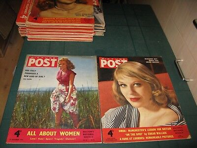 Picture Post Magazine X2 Issues 1954 - September 25Th - November 27Th