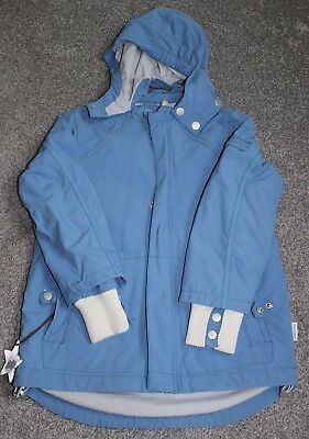 9yrs 9a 134cm MINI-A-TURE Boys Blue Waterproof Victory Jacket