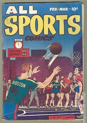 All Sports Comics #3 1949 GD- 1.8 Low Grade