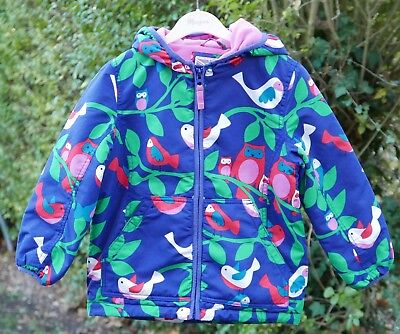Mini Boden Girls Fleece Lined Coat 5-6 years