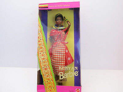 Kenyan Barbie.vintage 1993. Special Edition. Dolls Of The World Collection.