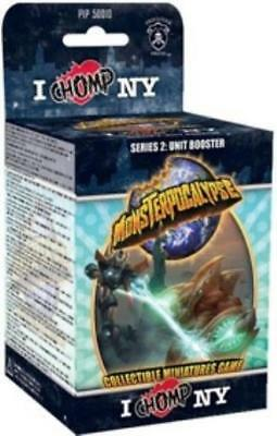 Privateer Monsterpocal Series #2 - I Chomp NY, Unit Booster Pack (Case Box MINT