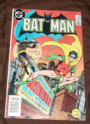 Batman 368 first appearance Jason Todd as Robin VG+/FN terrific copy