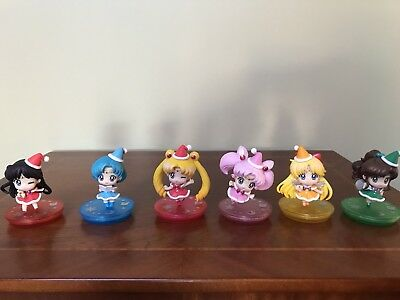 Sailor Moon figurine holiday set