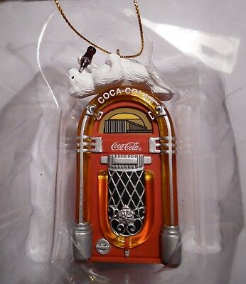 Coke Polar Bear Christmas Tree Ornament NIB