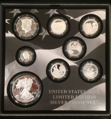 2017 S US MINT LIMITED EDITION SILVER PROOF SET  in hand