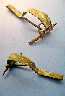 A Large Roman Bronze and Iron Fibula (Brooch), 3rd-4th Century AD
