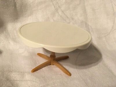 Sylvanian Families White Round Wedding Table Furniture Spare / Replacement