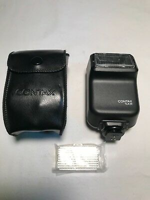 New Contax TLA20 flash with case and diffuser lens Mint! LQQK!