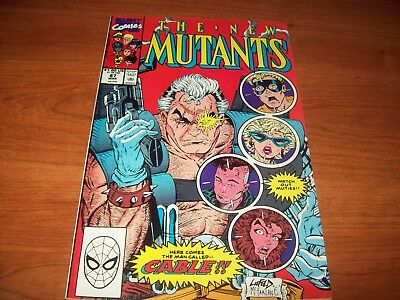 THE NEW MUTANTS #87 1st CABLE ... FIRST CABLE