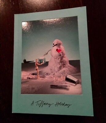 A Tiffany Holiday Tiffany & Co. Designer Jewelry Christmas Book 2017 Catalog NEW