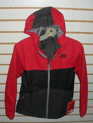 The North Face Boys Chimborazo Triclimate Jacket- A34Q6- Tnf Red - S,m,l,xl