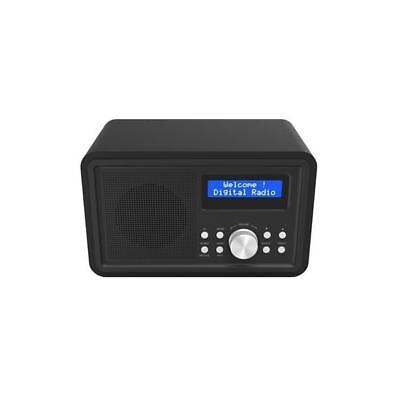 3450263 Denver Dab-35Black Uhr Digital Schwarz Radio (Dab-35Black)
