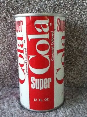 SUPER COLA Straight Steel. No bar codes or ml listed.American Beverage Corp.