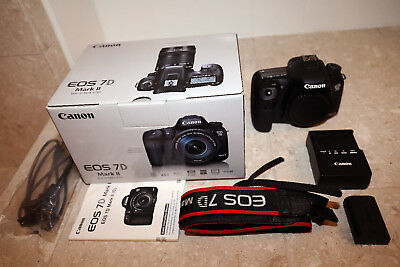 Canon EOS 7D Mark II 20.2MP Digital SLR Camera - Black (Body)