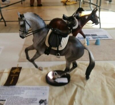 Model horse Dressage Saddle **STUNNING**