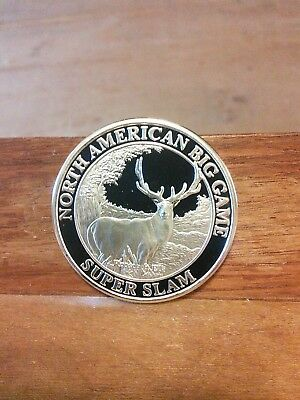 North American Big Game Super Slam-Roosevelt Elk Coin-Free Shipping