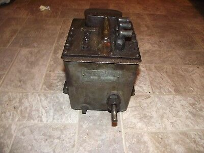 Estate Find Manzel Force Feed Lubricator Model 26D
