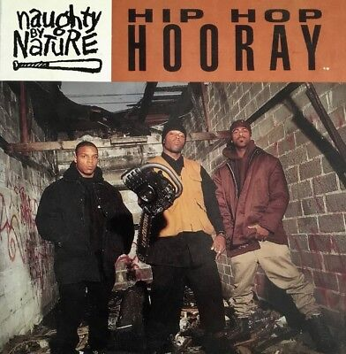 Naughty By Nature - Hip Hop Hooray/The Hood Comes First 5 Track CD Single PROMO