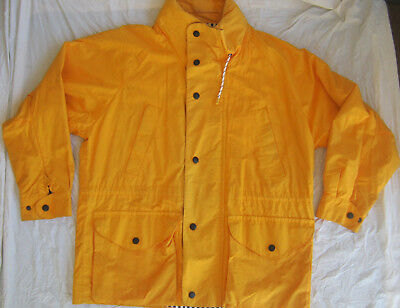 Mens Nautica Light Weight Jacket Yellow Size large