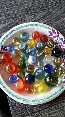 Lot of Beautiful Large Vintage Marbles #22