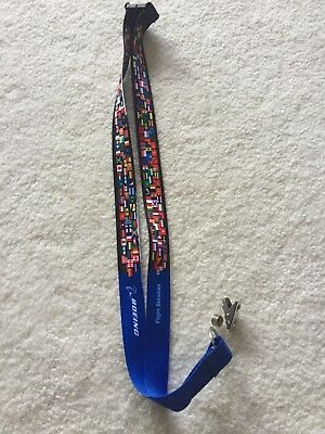 Boeing Lanyard, Neckstrap, ID holder, Flight Services, NEW, Great for present!